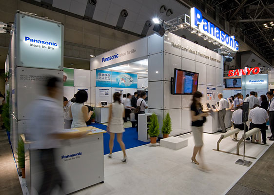 Panasonic Center Tokyo / Atrium (Display Booth for nano-e Products)