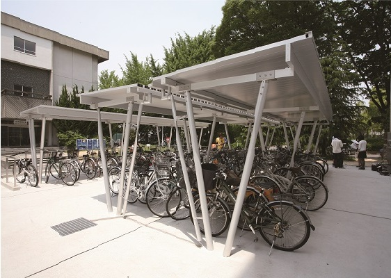 Nagoya University / Bicycle Park in the General Education Building