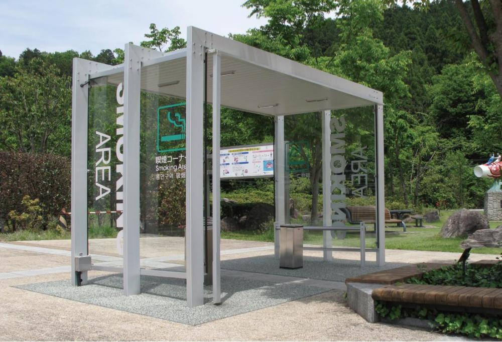 Kusu Service Area (Inbound) / Smoking Booth
